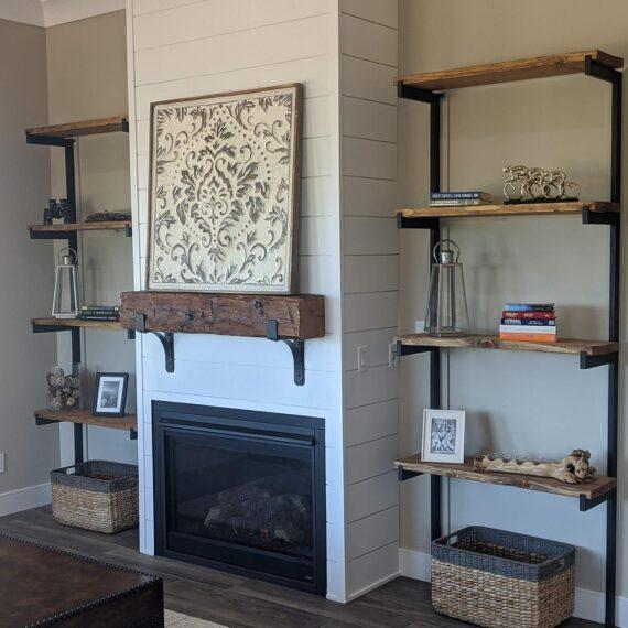 116 Red Mountain - Fireplace & Shelving